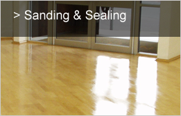 Sanding and Sealing Sutton Coldfield